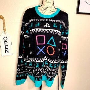 PlayStation knit sweater